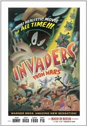 Invaders from Mars Signed by Juan Ortiz