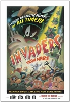 Invaders from Mars Signed by Juan Ortiz - Warner Bros. By Clampett Studios