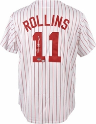 Jimmy Rollins<br> Signed Jersey