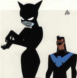 Knightwing & Catwoman OPC