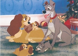 Lady & The Tramp Happy Family & Ending