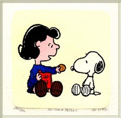 Lucy & Snoopy