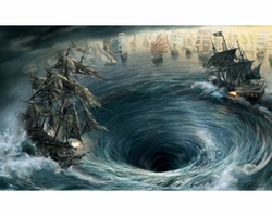 Maelstrom Giclee on Canvas