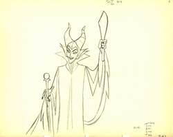 Maleficent #247 from Sleeping Beauty 1959