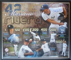 Mariano Rivera 602 Saves