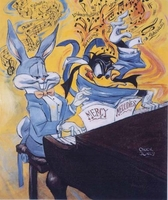 Mercy Melodies - Bugs Bunny Art