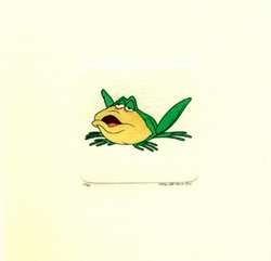 Michigan J. Frog Crouched <br>Down Small Etching