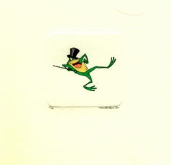 Michigan J. Frog Dancing <br>Small Etching