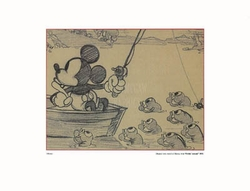 Mickey Fishing