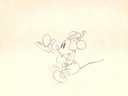 "Mickey Mouse from ""Alpine Climbers""(1936)  #40"