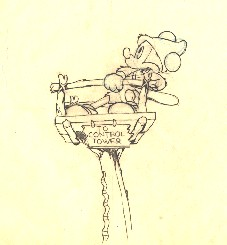"Mickey Mouse from ""Mickey's Man Friday""(1939) Drawing #12"