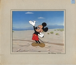 Mickey Mouse Vintage Dye Transfer