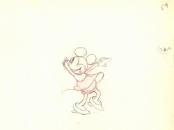 """Minnie #59 from """"Mickey's Rival"""" (1936)<br><font color=red>Please Call"""