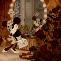 Minnie's Dressing <br>Room Canvas