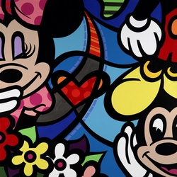 Minnie's Secret Canvas