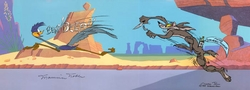 Misguided Muscle  Wile E Coyote & Road Runner