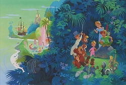 Neverland from Peter Pan