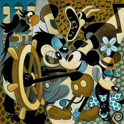 """""""Of Mice and Music"""" Canvas"""