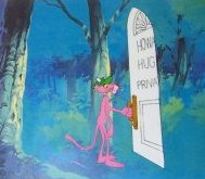 Pink Panther Cel & Pencil #5