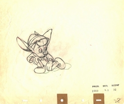 Pinocchio with Donkey Ears #28 from 1940