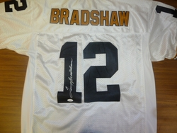 Pittsburgh Steelers Terry Bradshaw<br> Hand Signed Jersey