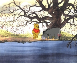"Pooh & Eeyore from ""A Day for Eeyore"" OPC #P47"