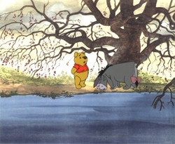 """Pooh & Eeyore from """"A Day for Eeyore"""" #P77"""