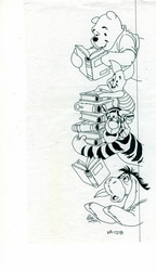 Pooh & Friends With Books