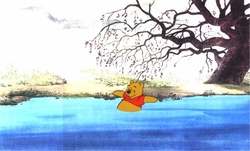 Pooh going down Stream from 1977 <br><font color=red>Please Call