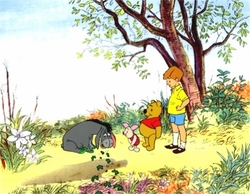 Pooh, Piglet, Eeyore & Christopher Robbins<br><font color=red>Please Call