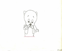 Porky Pig #P-27 - Production Drawings