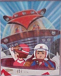 """Race against the mammoth car"" Speed Racer #1"