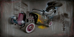 Rat Rod #80 <br>(Deluxe) Canvas