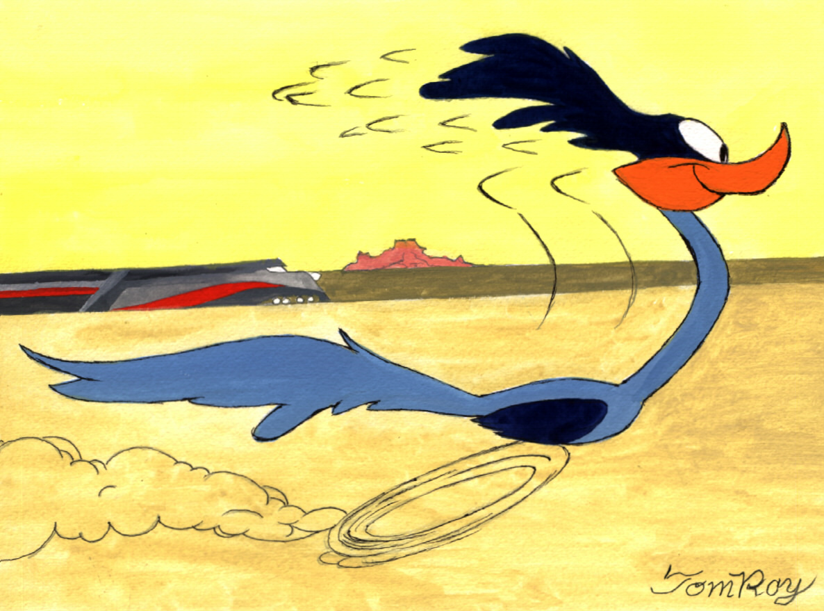 Road Runner - Animator Tom Ray at Choice Collectibles ...