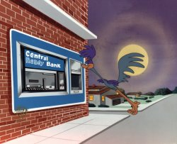 Road Runner in Central<br> Bank of Cleveland Commercial