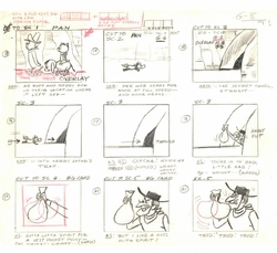 Ruff & Ready Original Story Board