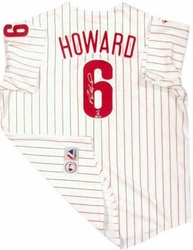 Ryan Howard Phillies<br>Signed Jersey