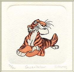 Shere Khan Color<br> Small Etching