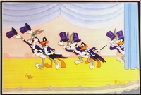 """Show Stoppers"" -  Buggs Bunny and Daffy Duck - Limited Editions"