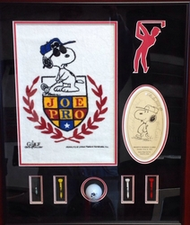 Snoopy Golf Collage