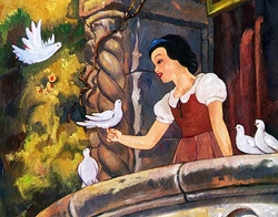 Snow White on the <br>Balcony - limited availability