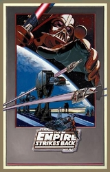 The Empire Strikes Back Litho