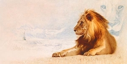 The Great Lion <br> Narnia Canvas