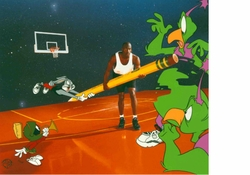 The Great Space Erase Signed by Michael Jordan AP