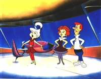 The Jetsons at Home Original Production Cel - The Jetsons