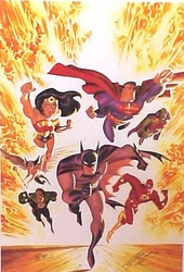 The New Justice League of America <br> Alex Ross & B. Timm