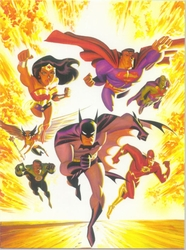 The New Justice League of America <br> (JLA) by B.Timm/A.Ross