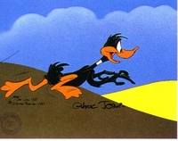 The Race Is On - Daffy Duck