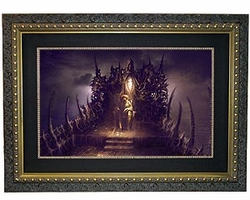 The Tortured Soul of Davy Jones Small Canvas