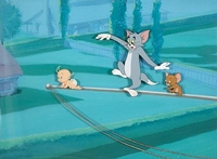 "Tom & Jerry OPC<br> ""Tot Watchers"" 1958 - Tom & Jerry"